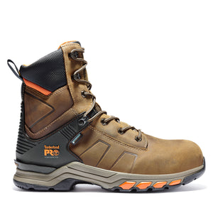 "'Timberland Pro' Men's 8"" Hypercharge WP Comp Toe - Brown / Black"