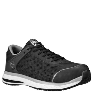 Drivetrain ESD Composite Toe Shoe - Black / Light Gray / White