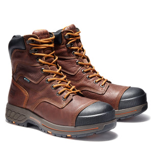 "'Timberland Pro' A1RW4 - Helix 8"" HD Composite Toe Boot - Brown / Black"