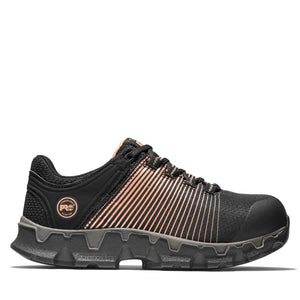 A1S66 - Timberland Powertrain Sport ESD Alloy Toe Shoe - Black / Peach