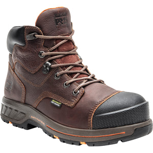 "'Timberland Pro' Men's 6"" Helix EH Int. Met Guard HD Comp Toe - Brown"