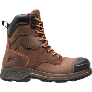 "'Timberland Pro' Men's 8"" Helix HD 400GR Insulation EH WP Comp Toe - Brown / Black"