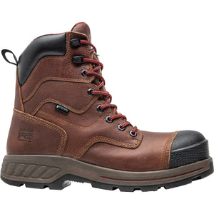 "'Timberland Pro' Men's 8"" Endurance HD 600GR Insulation WP Comp Toe - Brown / Black"