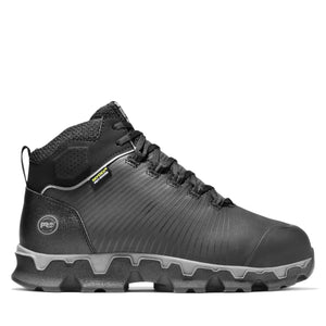 'Timberland Pro' Men's Powertrain Sport Int Met EH Safety Toe Hiker - Black