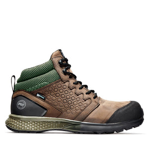 'Timberland Pro' Men's Reaxion EH WP Comp Toe Hiker - Brown
