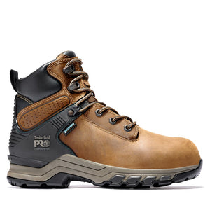 "'Timberland Pro' Women's 6"" Hypercharge SR WP Comp Toe - Brown"