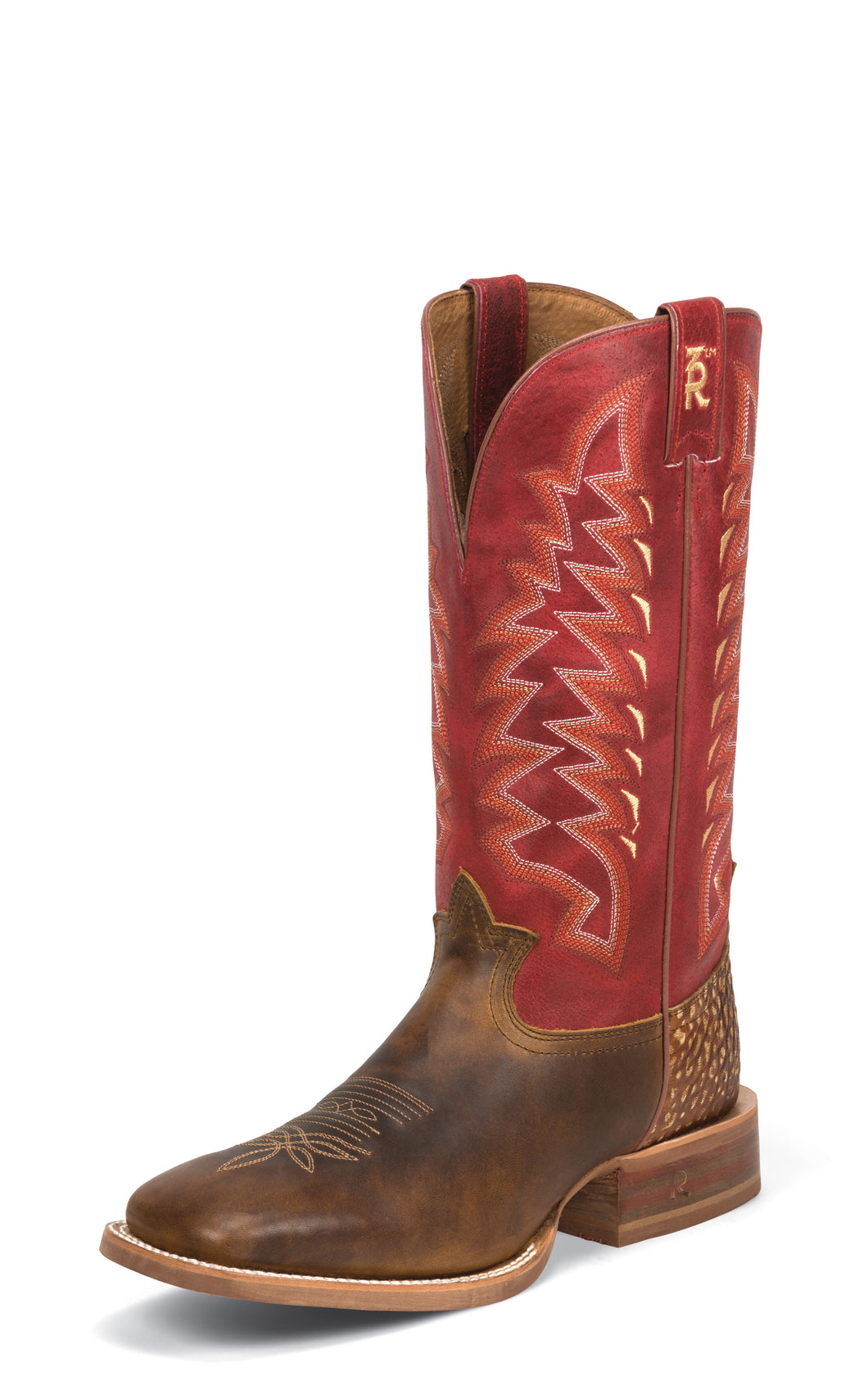 Seymour Tan - Rojo Carrizo Red / Tan Cuero
