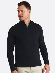 'TASC' Men's Tahoe II Bamboo Fleece 1/4 Zip - Black