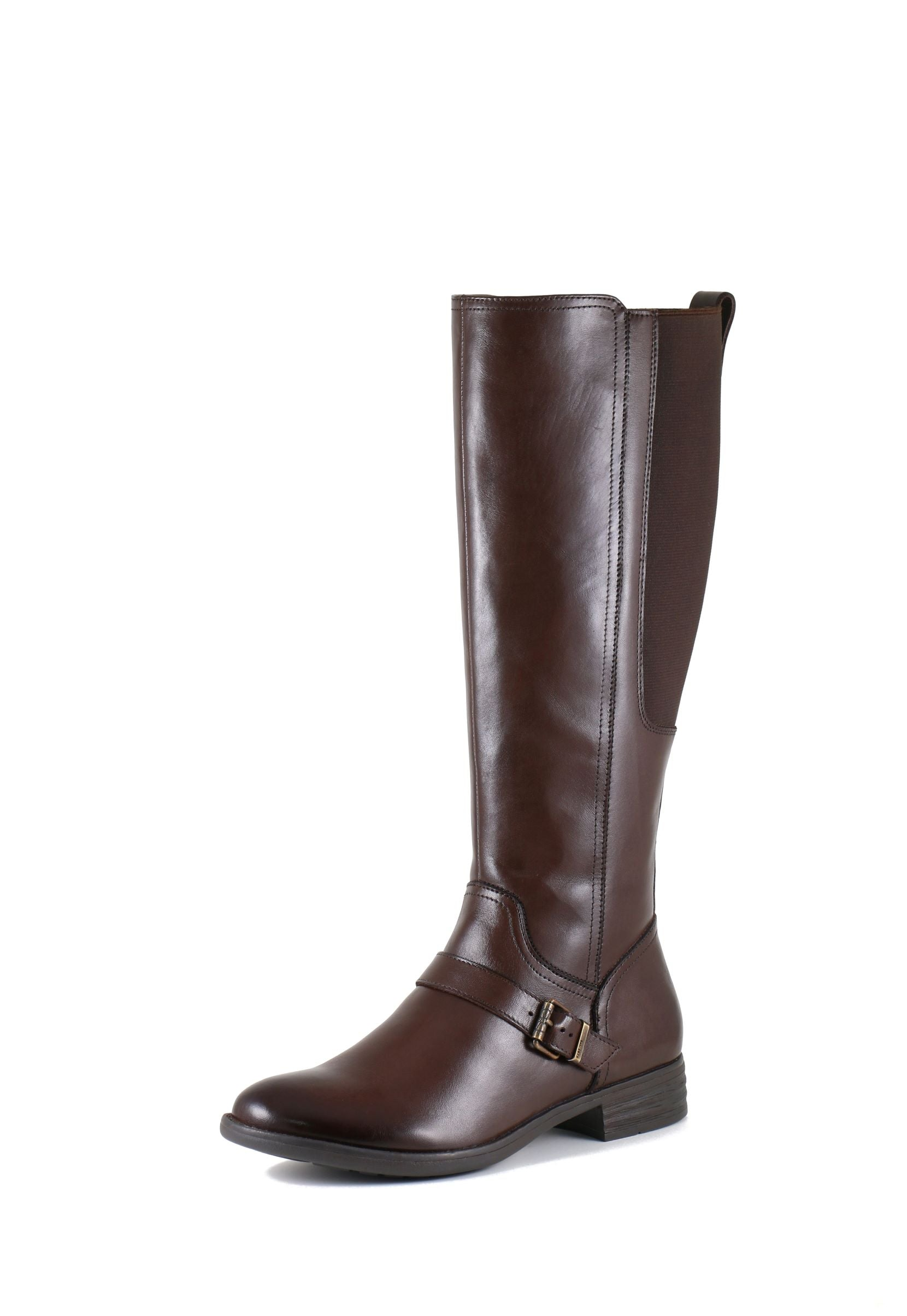 'Bussola' Trapani Tatiana - Women's Tall Boot - Seal Brown