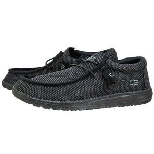 'Hey Dude' Men's Wally Sox Classic - Black