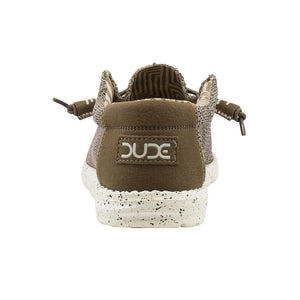 'Hey Dude' Men's Wally Sox Slip On - Brown