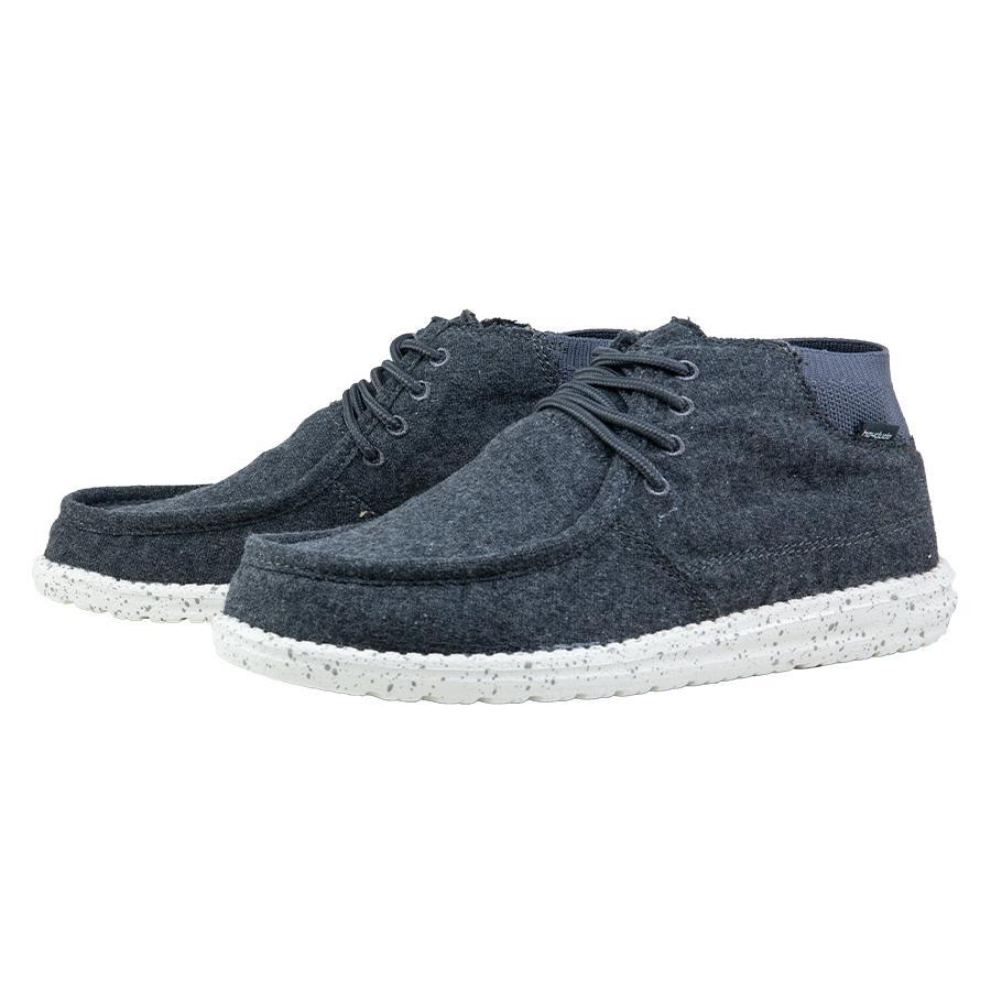 'Hey Dude' Men's Wayne - Charcoal
