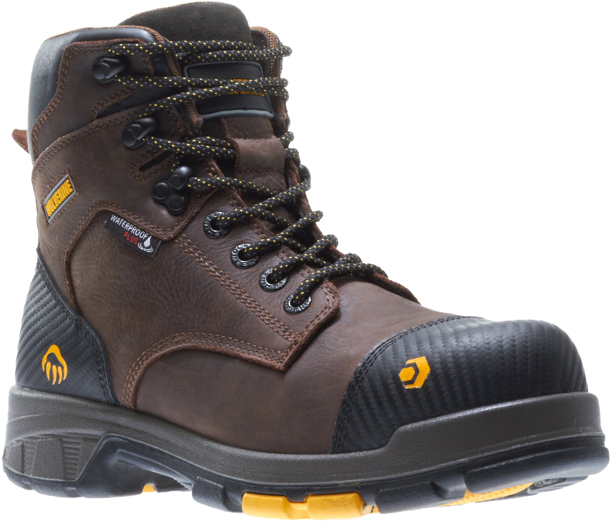 Blade LX Waterproof Met Guard Carbonmax Boot - Dark Brown / Black