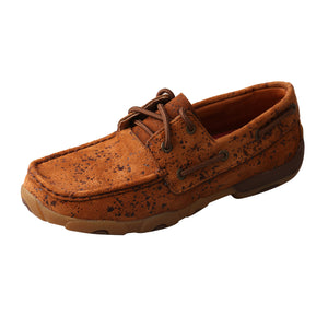 'Twisted X' Women's Driving Moccasin - Tawny Splash