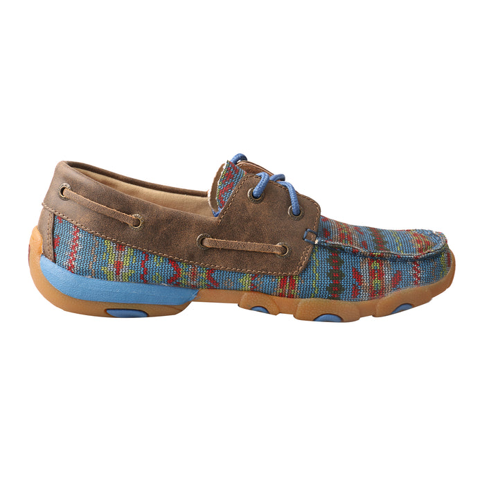 'Twisted X' Women's Driving Moc - Multi