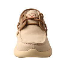 'Twisted X' Women's EVA12R Boat Shoe - Khaki / Bomber
