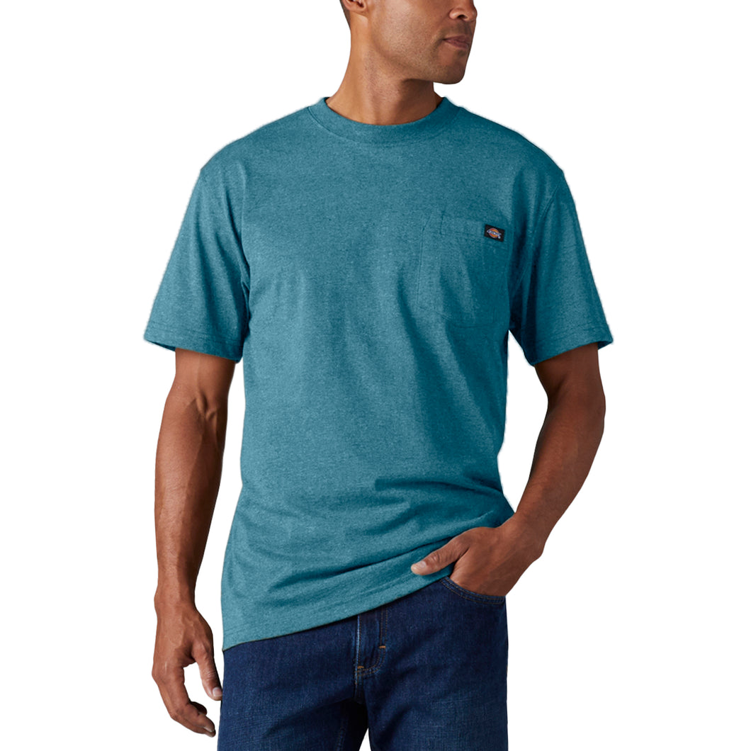 'Dickies' Heavyweight Crew T-Shirt - Seaside