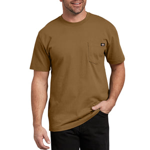 'Dickies' Heavyweight Crew T-Shirt - Brown Duck