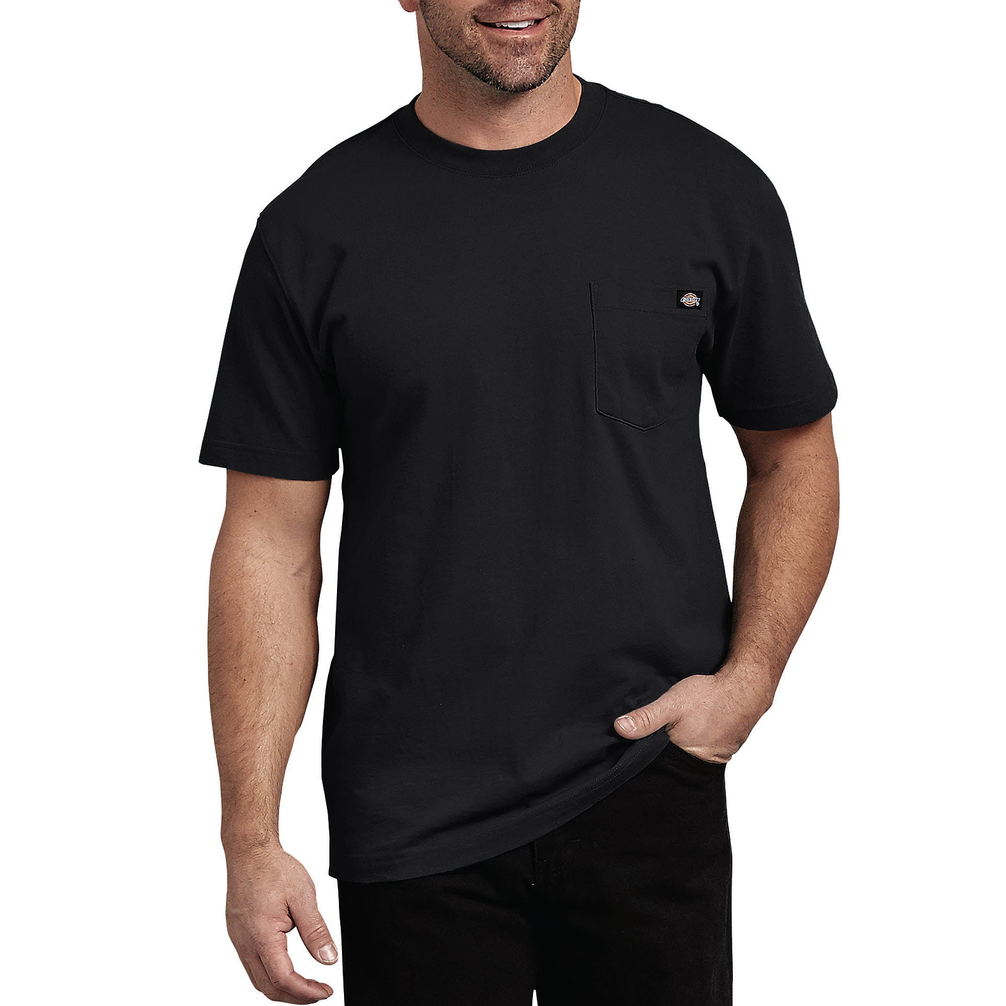 Short Sleeve Heavyweight T-Shirt - Black
