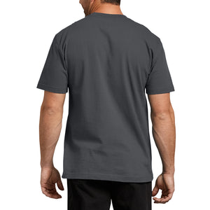 'Dickies' Heavyweight Crew T-Shirt - Charcoal Gray