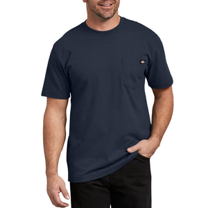 'Dickies' Heavyweight Crew T-Shirt - Dark Navy