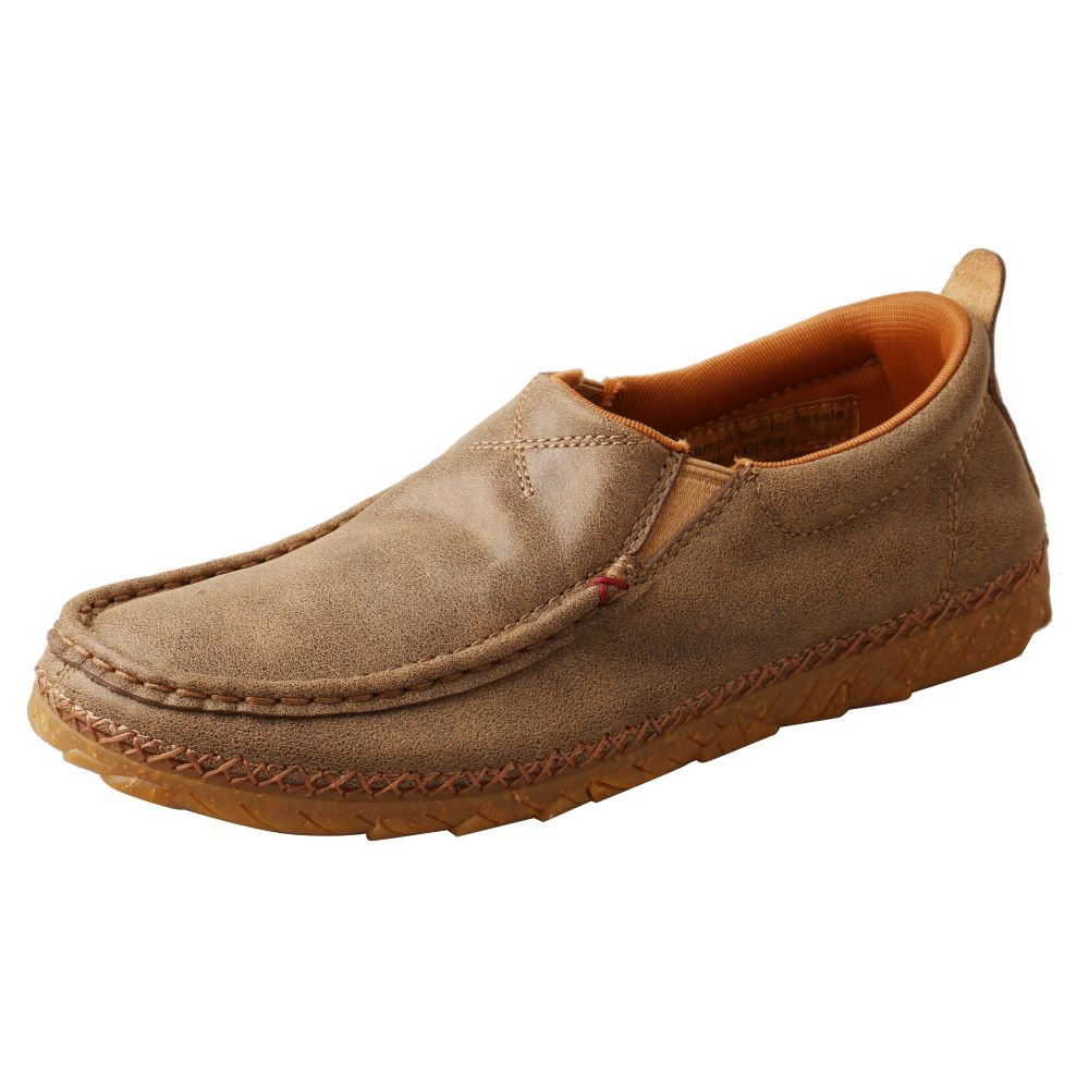 'Twisted X' Women's Zero-X™ Slip On - Bomber / Brown