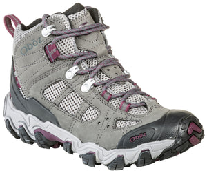'OBOZ' 24302 - Women's Bridger Vent Mid WP Hiker - Frost Grey