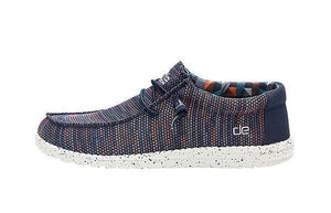 'Hey Dude' Men's Wally Sox Funk - Blue/Orange