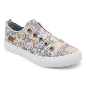 'Blowfish Malibu' Women's Play Slip On - Gray Gypsy