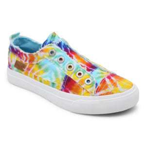 'Blowfish Malibu' Women's Play Slip On - Rainbow Tiedye