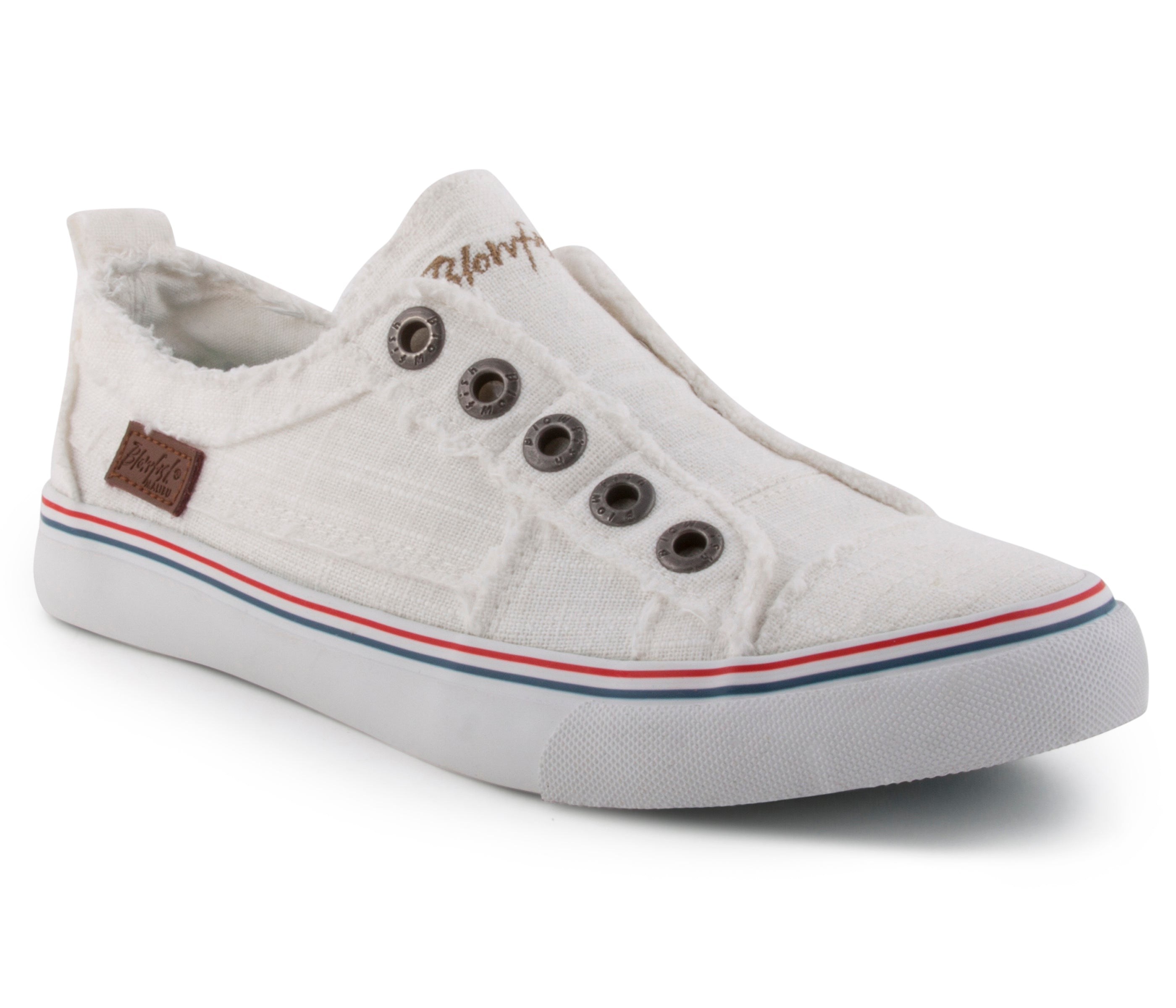 'Blowfish' Malibu Play ZS-0061 103 - Slip-on Shoe - White Color Washed Cozumel