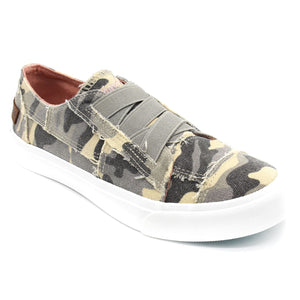'Blowfish' Malibu Marley ZS-0071 748 - Slip-on Shoe - Grey Urban Camo