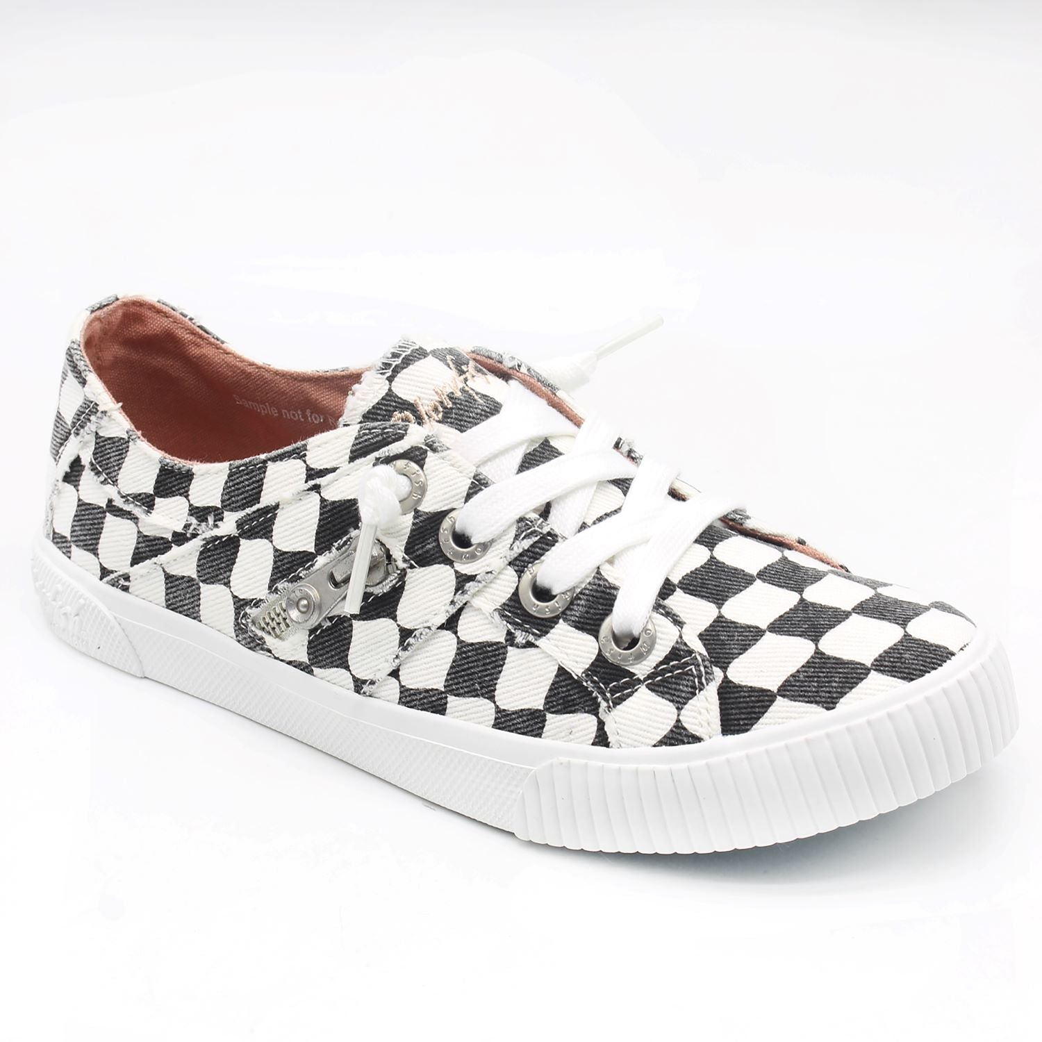'Blowfish Malibu' Fruit ZS-0269 753 - Slip-on Shoe - Off White Munky Check