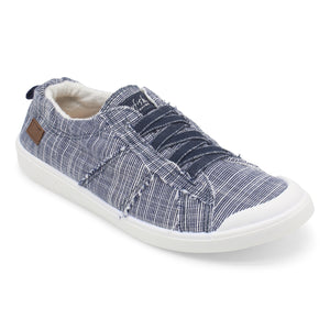 'Blowfish' Malibu Vex ZS-0370 606 - Slip-on Shoe - Navy Ribbed