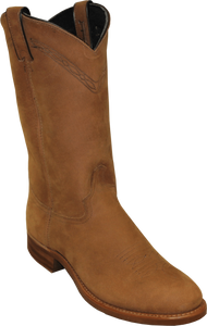 "'Abilene' Men's 12"" Cowhide Western Round Toe - Brown"