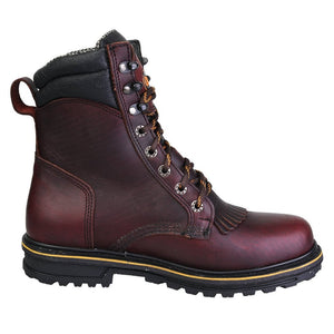 "'CEBU' Men's 8"" ATK Lacer Steel Toe - Brown"