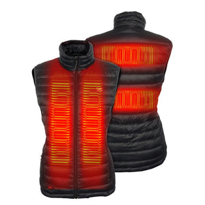 'Fieldsheer' Women's Heated Bluetooth Summit Vest - Black