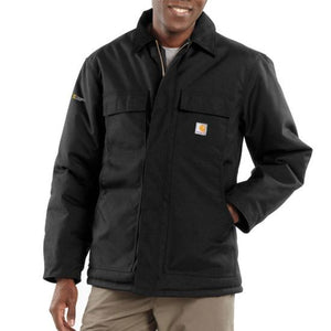 'Carhartt' Men's Full Swing Chore Coat - Black