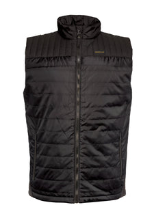 'Caterpillar' Men's Squall Vest - Black