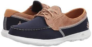 15430 - Skechers GoWalk Lite - Navy / Tan