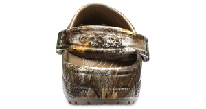 'Crocs' Men's/Women's Classic Realtree®Clog - Walnut / Camo
