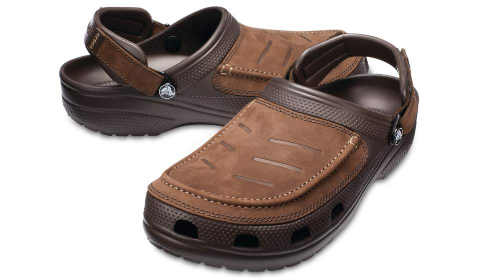 'Crocs' 205177 22Z - Men's Yukon Vista Clog - Espresso & Black