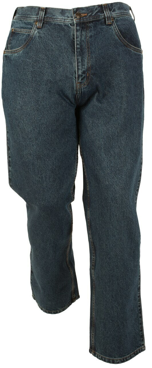 'FiveBrother' Men's Flannel Lined 5 Pocket Jean - Dark Stone