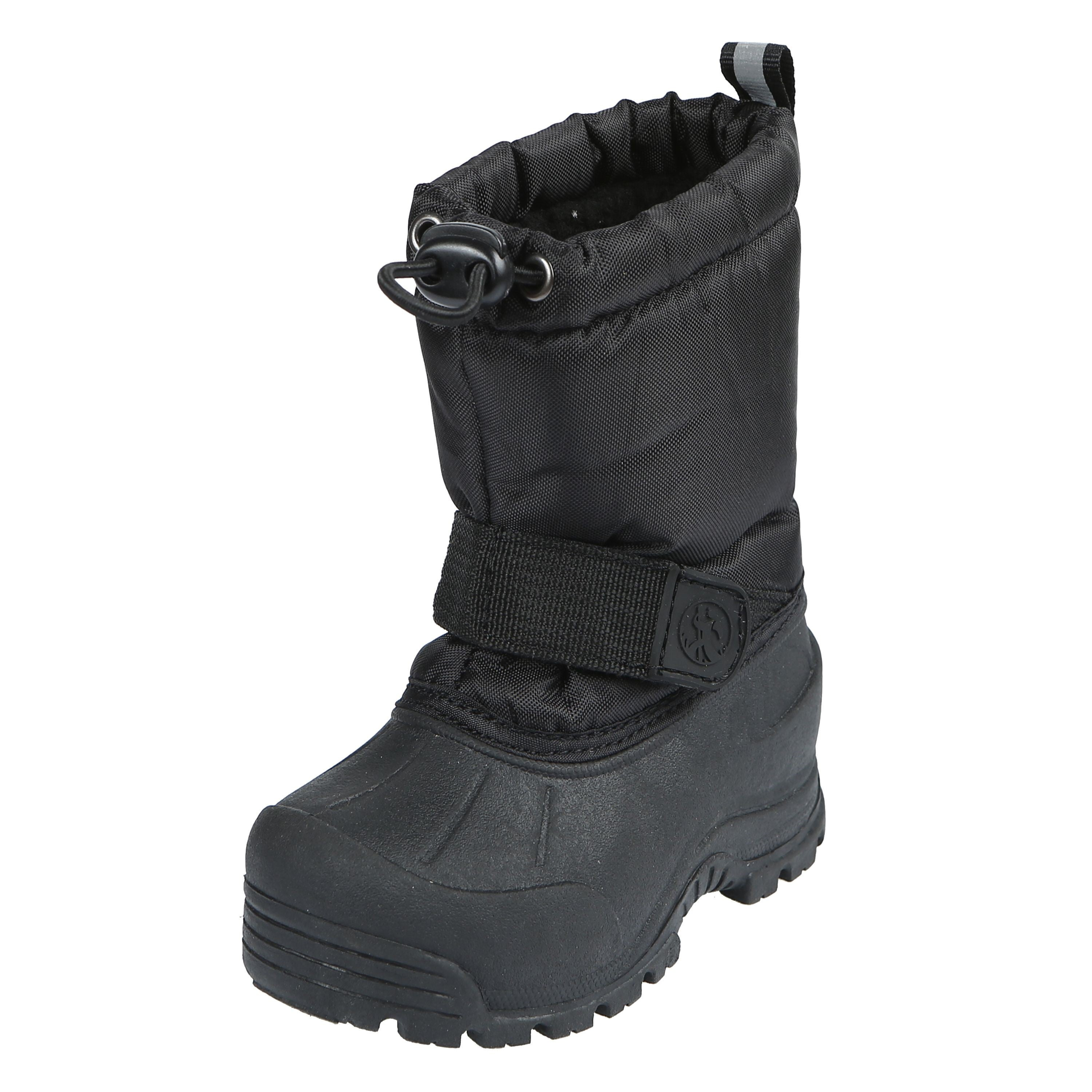 'Northside' Youth Frosty Insulated WP Snow Boot - Black