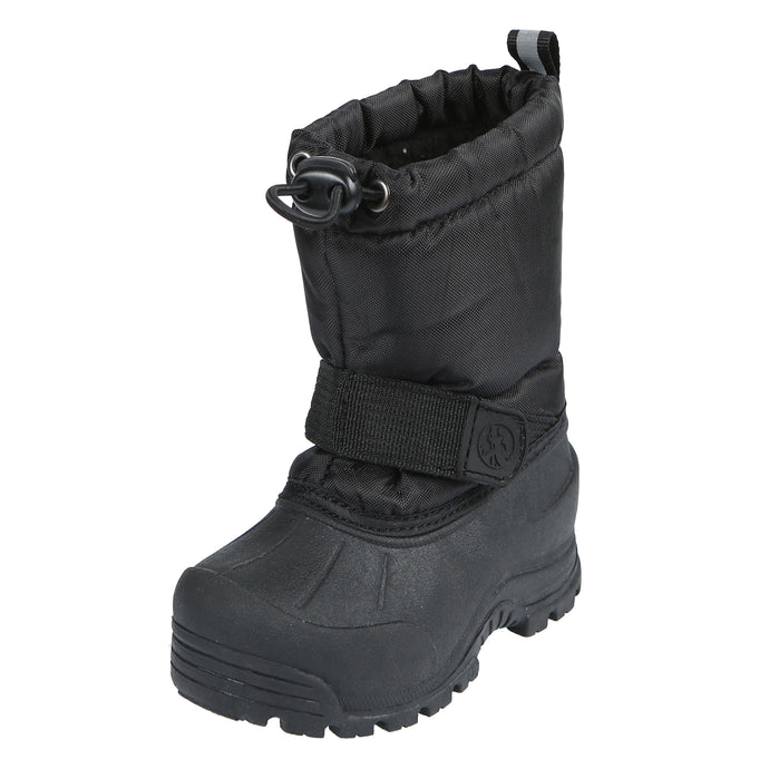Frosty Insulated Waterproof Snow Boot - Black