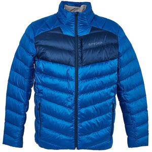 'Spyder' Men's Timeless Down Jacket - Old Glory Blue