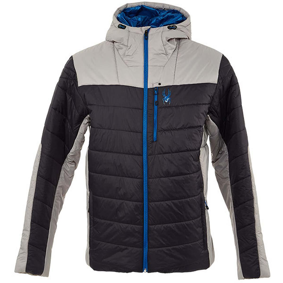 'Spyder' Men's Glissade Hooded Jacket - Ebony