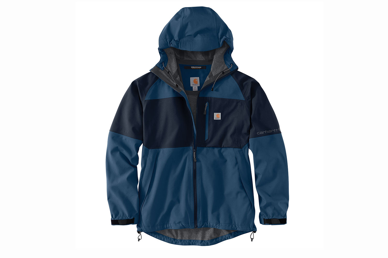 'Carhartt' Men's Storm Defender®Midweight Hooded Jacket - Dark Blue / Navy