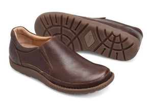 'Born' H48206 - Men's Nigel Slip On - Dark Brown