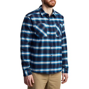 'Sitka' Men's Riser Work Shirt - Eclipse Plaid